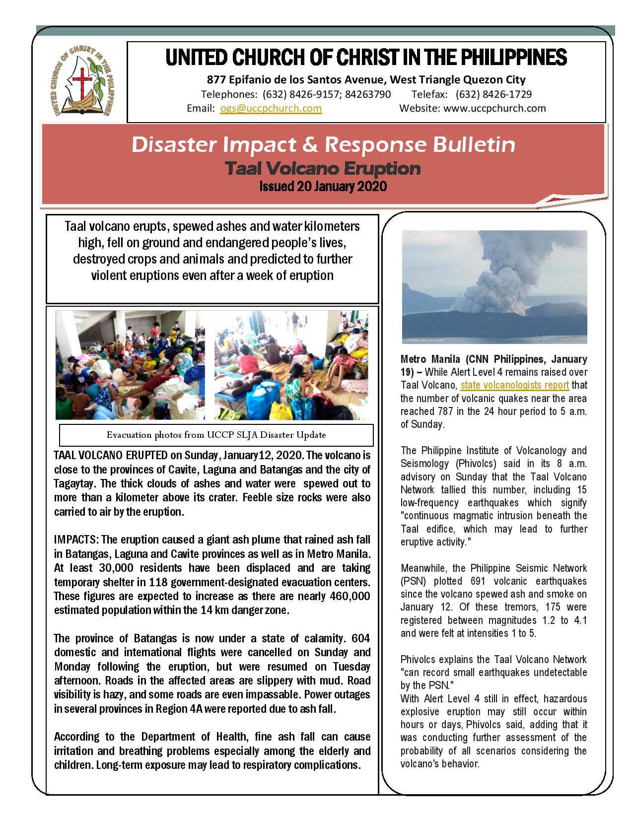2020-Disaster-Impact-Response-Bulletin -TAAL VOLCANO ERUPTION-Edited-page-001